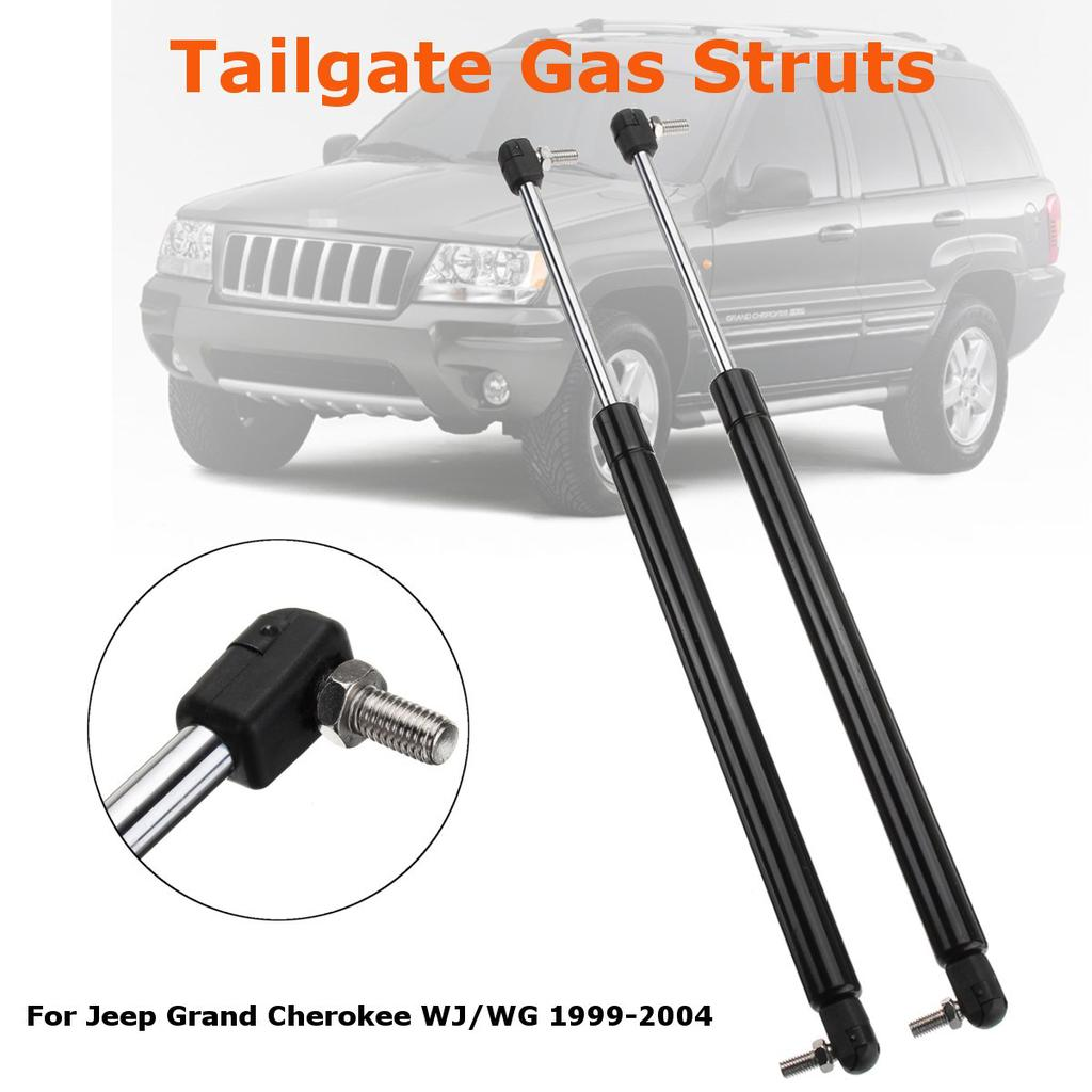 2 Hood /& 2 Hatch Tailgate Lift Supports For Jeep Grand Cherokee 1999-2004