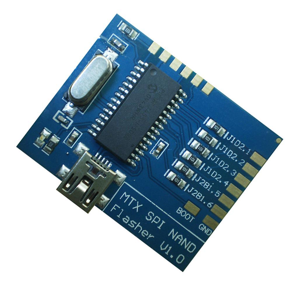 Matrix Nand Programmer Mtx Spi Nand Flasher V1.0 Fast Usb Spi Nand Programmer oi