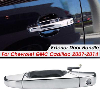 1Pc For Chevrolet GMC 2007-2014 Front Rear Left Right ABS Exterior Door Handle