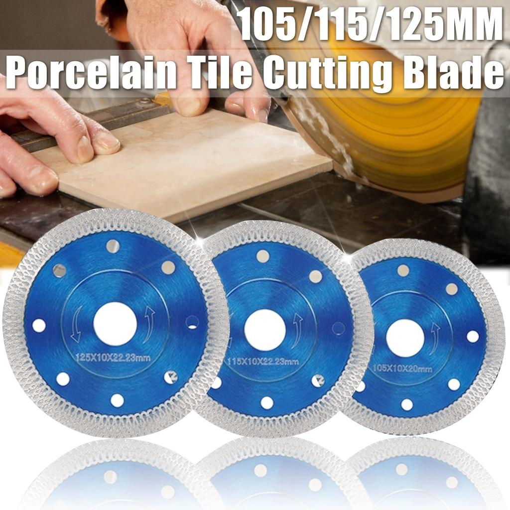 """100mm Diamond Saw Blade Cutting Disc For Ground  Concrete Marble Tiles 4/"""" Great"""