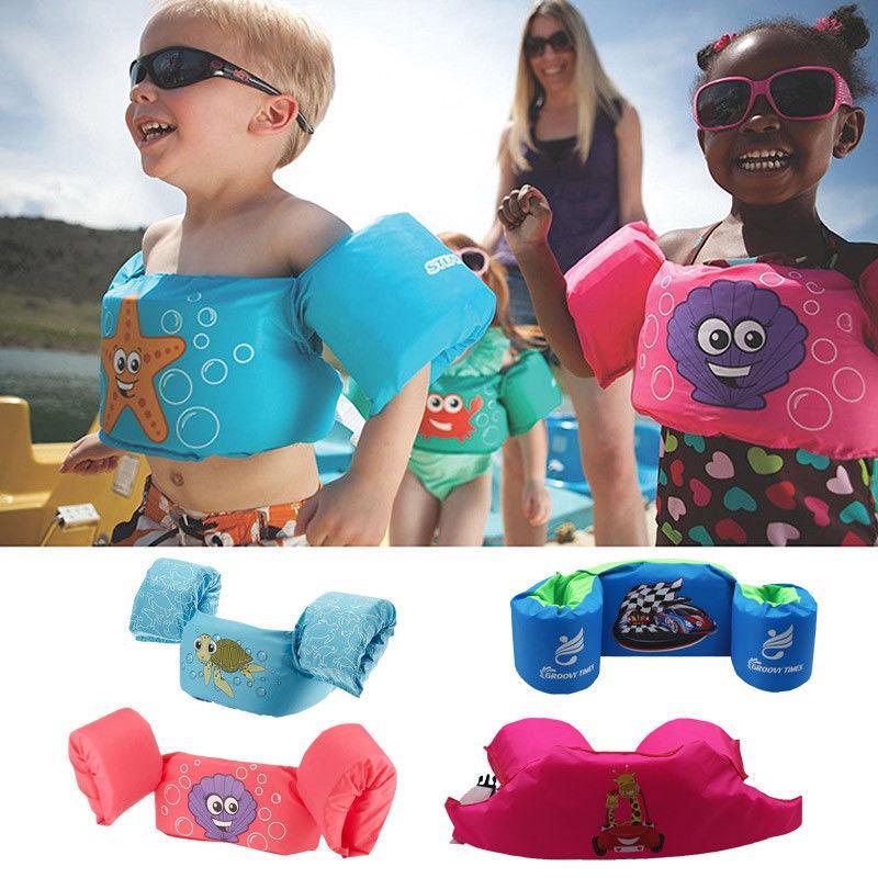 Kinderbadespaß Puddle Jumper Schwimmen Deluxe Schwimmweste Sicherheitsweste Für Kinder Baby Zubehör