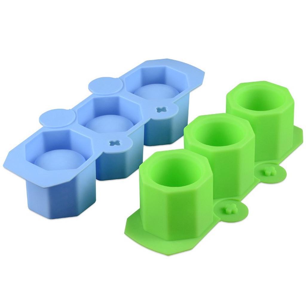 Silicone Mold Geometric Polygonal Concrete Flower Pot Vase Mould Resin E9P4