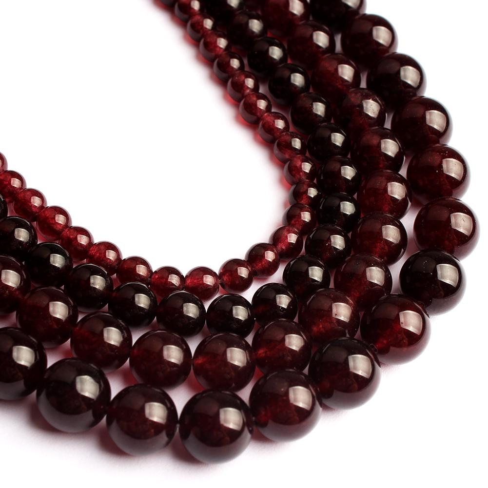 """15/"""" Strand Red Agate Gemstone Round Loose Beads Jewelry Finding 4//6//8//10mm DIY"""