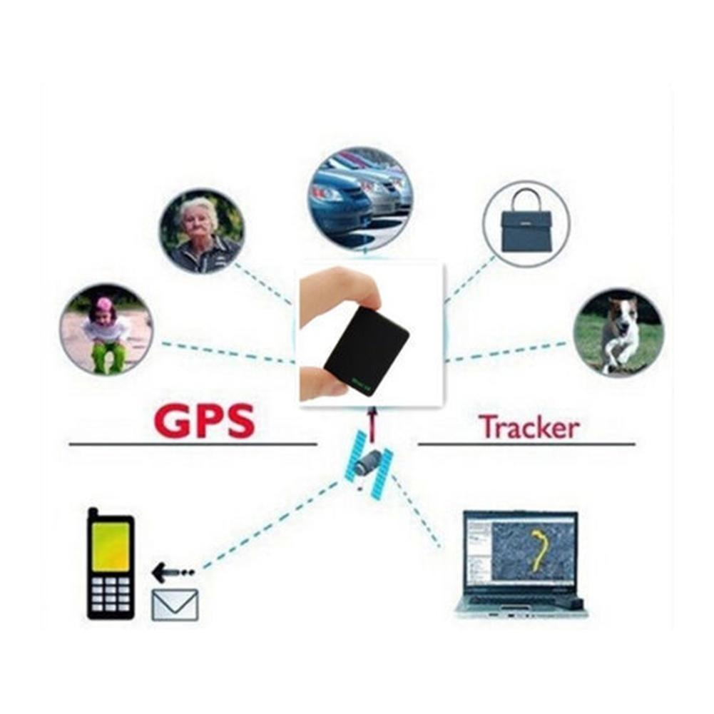 Mini Global Locator A8 Realtime Vehicle Car GSM/GPRS/GPS Tracker Tracking  Device (Color: Black)