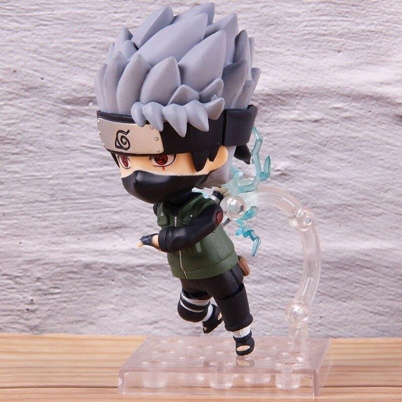 10cm Naruto Shippuden Hatake Kakashi New 724# Anime Action Figure PVC toy No Box