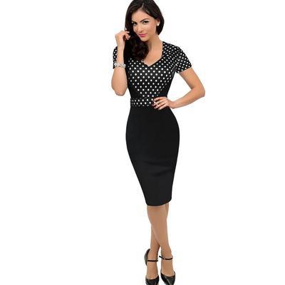 1a0e68dfc8bd410 черный, l женская уличная одежда сексуальная мода элегантный хлопок Повседневная  платье 7