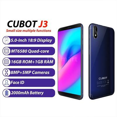 Smartphone 5 0 Inch 18:9 Full Screen 1+16GB Face ID Quad-core Display 8 0MP  Rear Camera