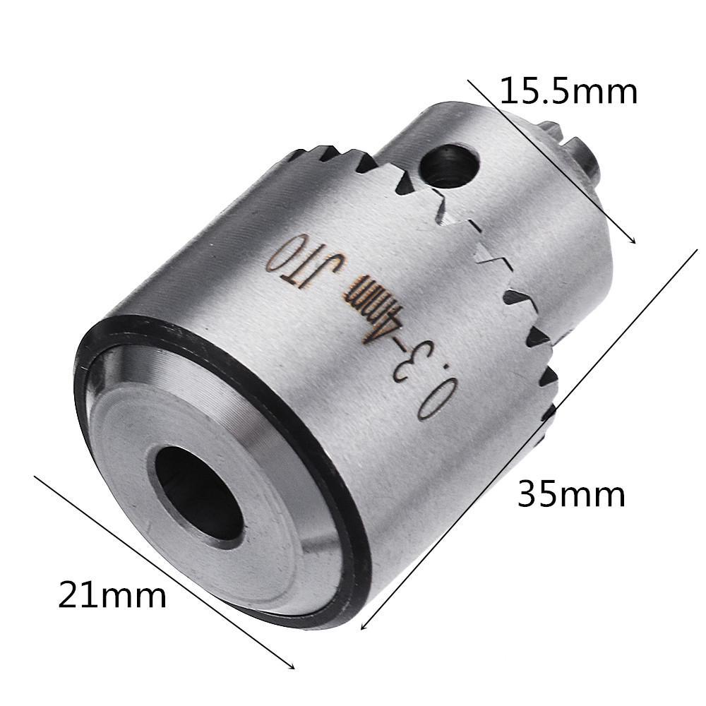 For Jto0.3--4Mm Miniature Wrench Drill Chuck Micro Mini Three Claw Drill Chuck X
