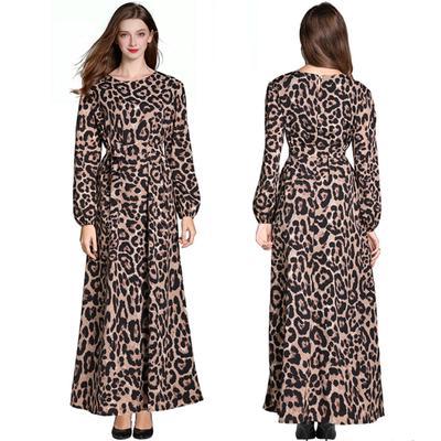 Muslim Dresses for Women,Womens Muslim Loose Solid Color Robe Clothing Abaya Islamic Arab Kaftan