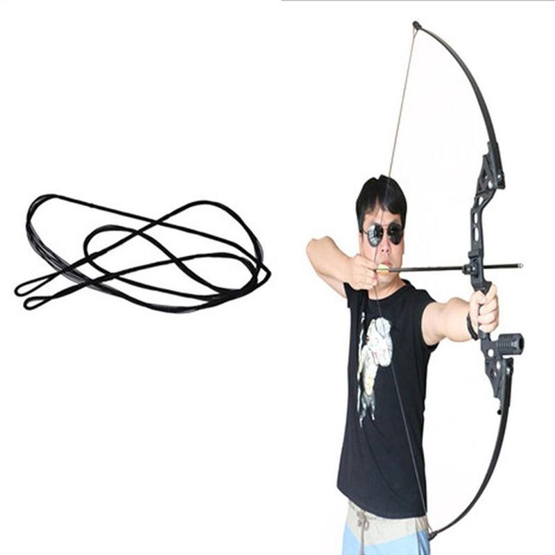 Bowstring Recurve Bow Traditional Bow and Arrow Straight Bow and Bow String Tire Line