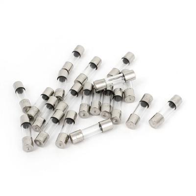 10/pcs 250/V 20/A 20/Amp Fusion lente fusibles en verre tubes 5/mm x 20/mm