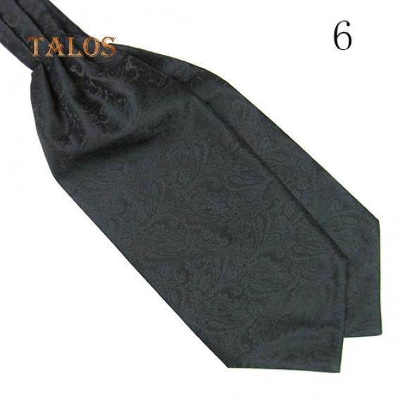 Men/'s Colorful Silky Satin Wedding Banquet Necktie Cravat Ascot Tie Healthy