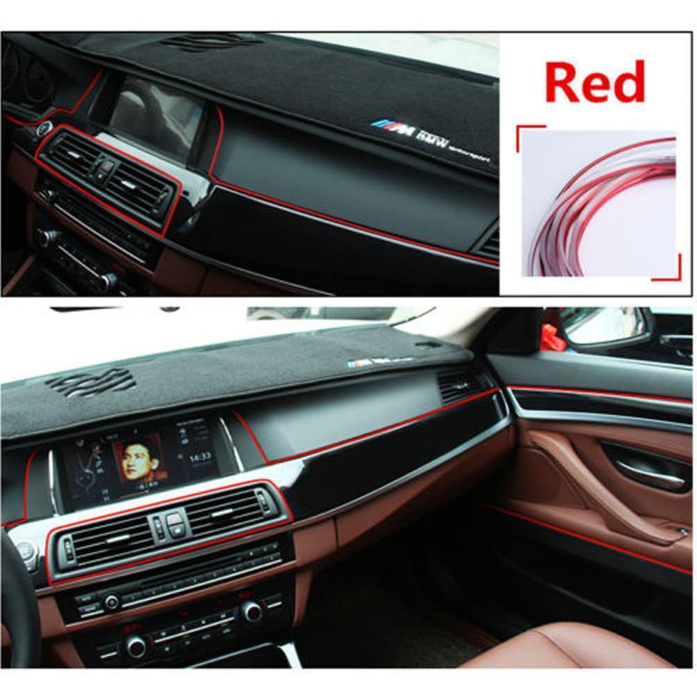 5M Point Edge Gap Line Car Interior Accessories Molding Garnish Decor Light DIY