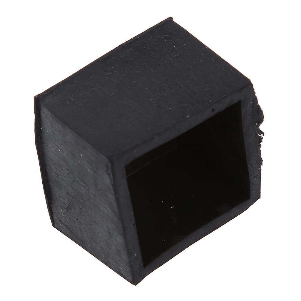 5/PCS Kegelf/örmige 25/mm Dia M/öbel Tisch Stuhl Gummifu/ß Pads Schwarz
