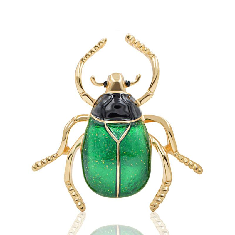Lovely Beetle Insect Shaped Cartoon Pins Enamel Brooch Badge Fashional Jewelry