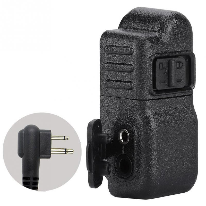 Radio Intercom Adapter Walkie-Talkie Microphone Audio Adapter for DP6600 Wire Connector Adapter Audio Adapter Microphone Adapter