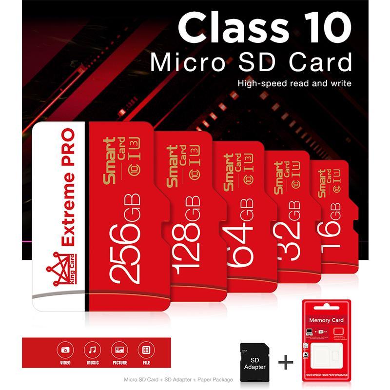 Sd 64 GB MP3 MP4 8 гб флэш-карты памяти 16gb картой микрокарты 32GB карты micro 128 G B класса 10 tf карта смартфона мини – купить по низким ценам в интернет-магазине Joom