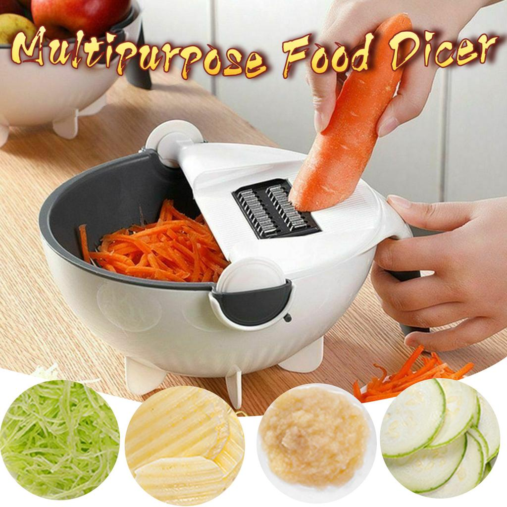 Magic Rotate The Vegetable Cutter Slicer Kitchen Multifunction Good Sets