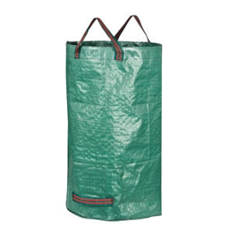 Portable Collapsible Leaf Trash Can Garbage Storage Bag Collection Bin 45*76cm