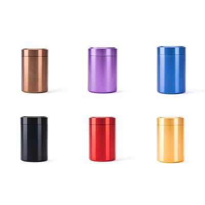 Airtight Smell Proof Container New Aluminum Herb Stash Jar High Quality Storage