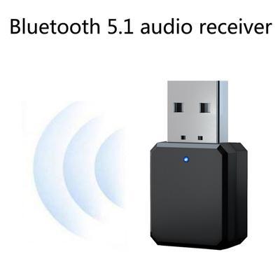 KN318 Bluetooth 5.1 Audio Receiver Dual Output AUX USB Stereo Car Hands-free Call