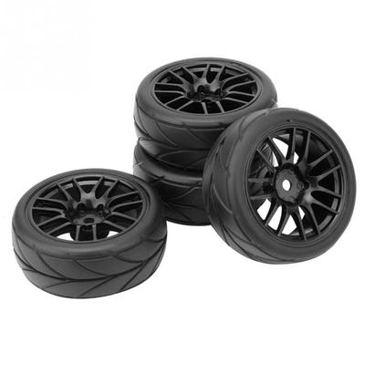 4pcs RC 1:10 Scale RC On Road Car RC Racing Rubber Tyres Tires 26mm Width