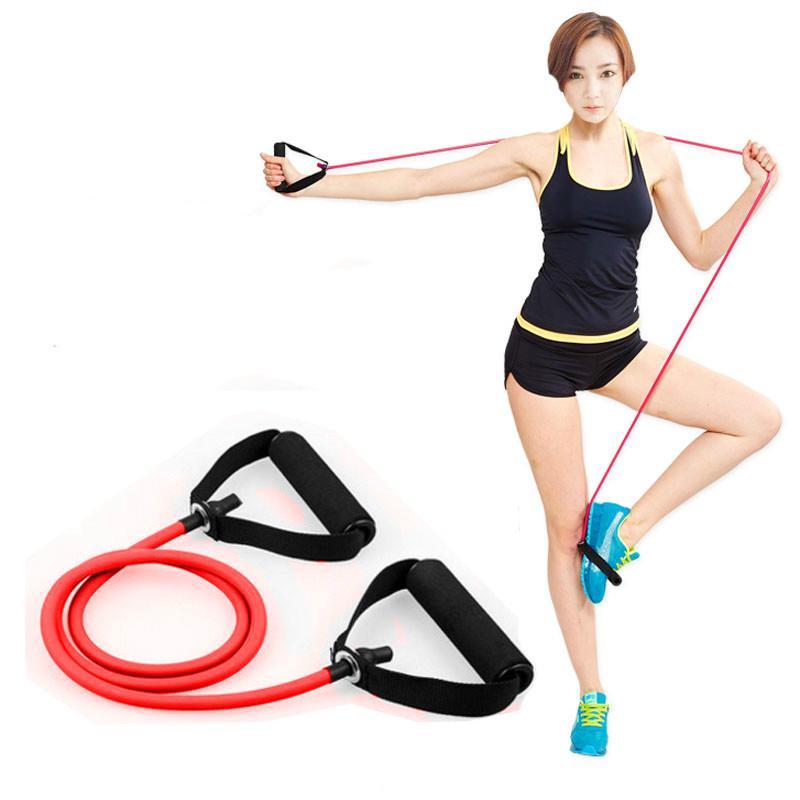 Pull Rope Exercise Fitness Set Muskeltraining Gym Yoga Resistance Elastic Band