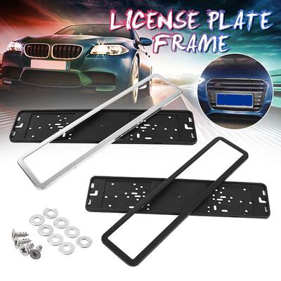 Universal European Euro License tag Plate mounting Frame front Bracket holder