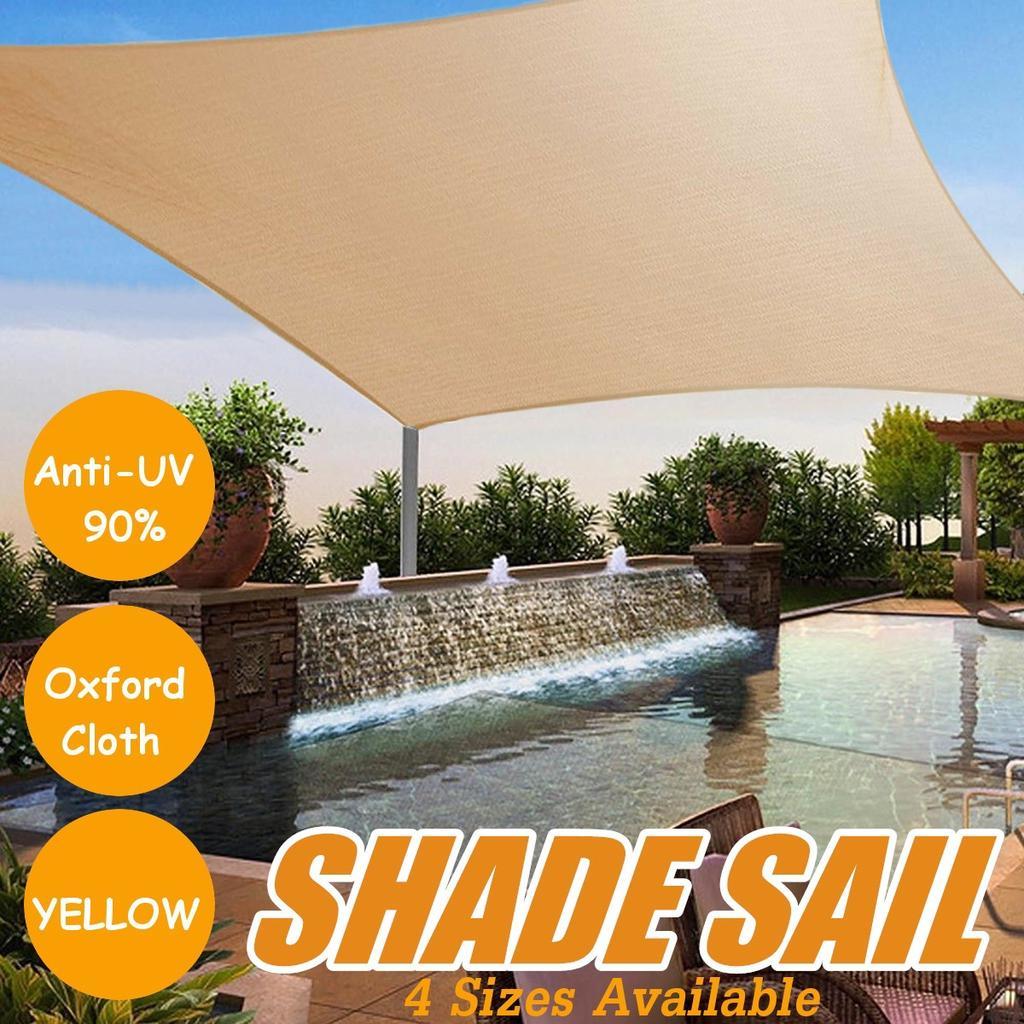 Sun Shade Sail Balcony Sunshade Net Patio Sun-shelt Garden Pool Outdoor Anti-Sun