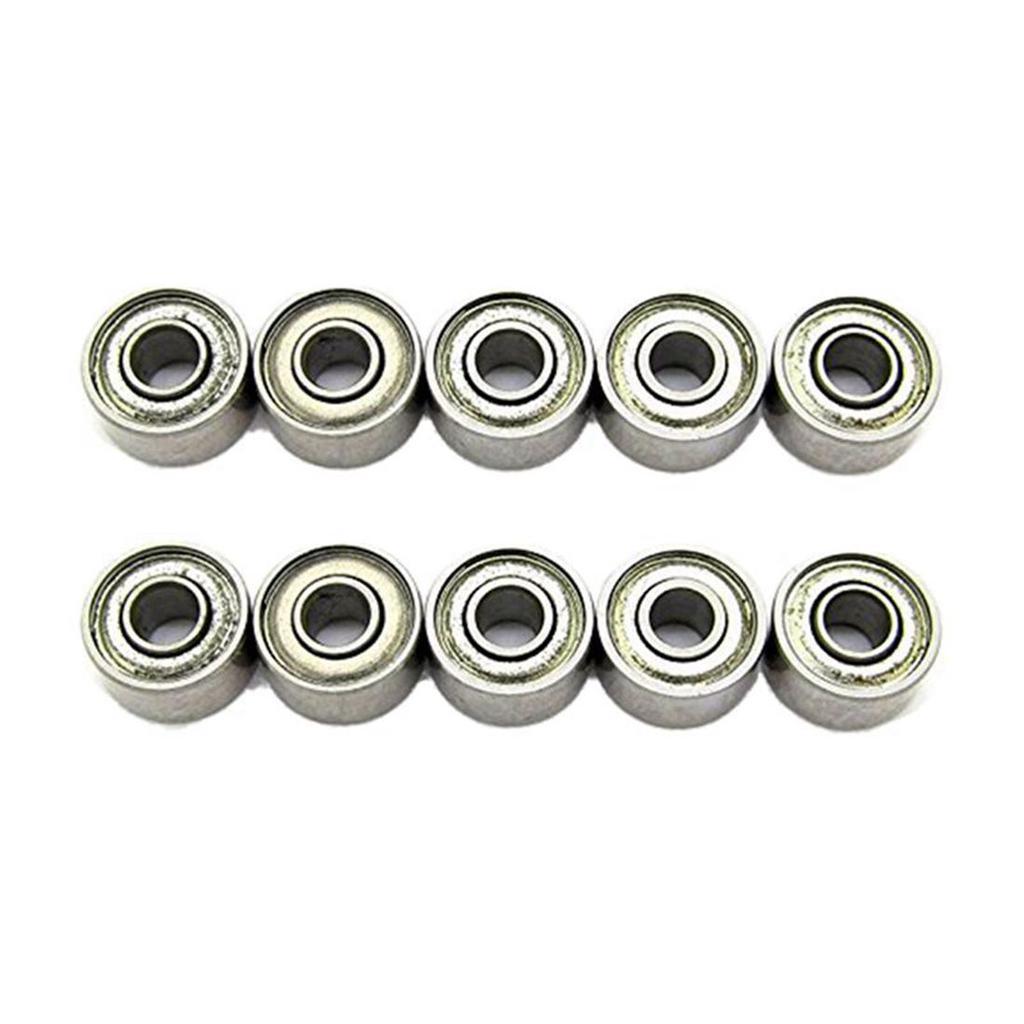 681XZZ Ball Bearing 1.5x4x2mm Double Shielded ABEC-3 Bearings 5pcs