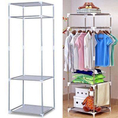 Clothes Hanger Organizer Portable Floor Display Rack Garment