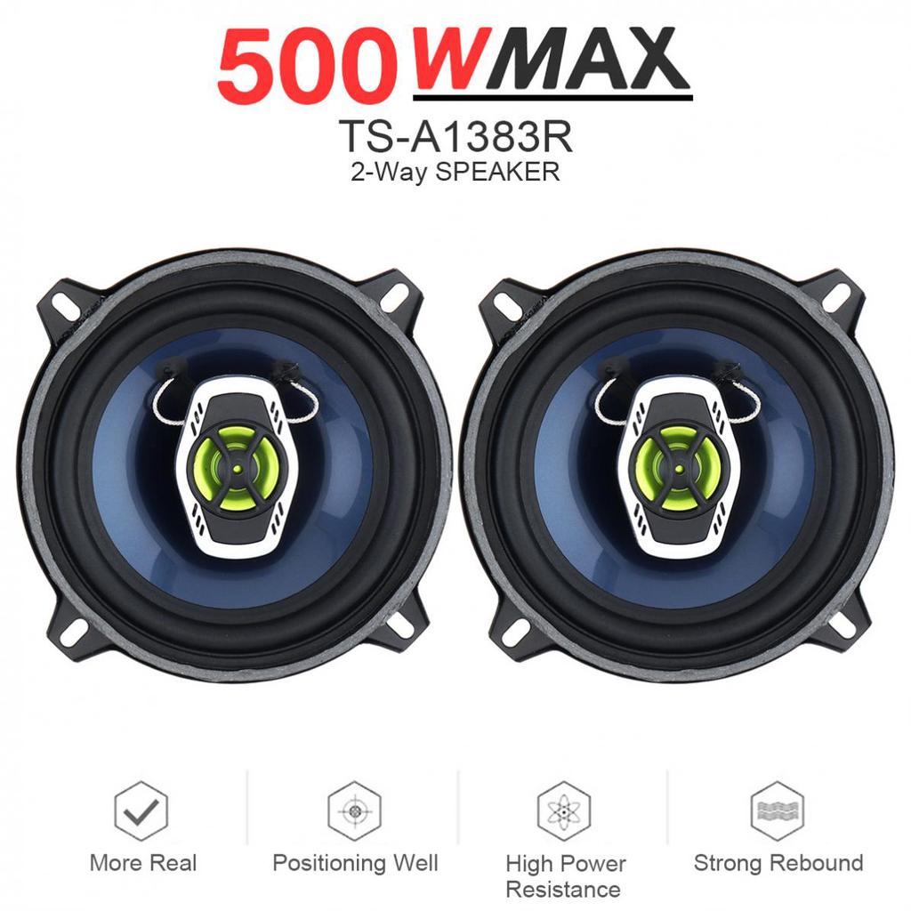 2 pcs 6.5 Inch 60W Car Speaker Automobile Car HiFi Audio Full Range Frequency Speaker High Pitch Loudspeaker