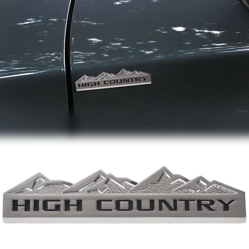 País alto metal coche emblema insignia etiqueta engomada etiqueta ...