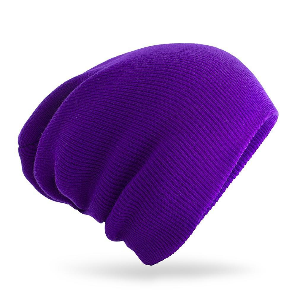 厂价 秋冬经典男女同款荧光色线帽帽子针织帽街舞毛线帽套头帽