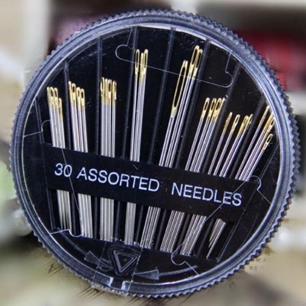 30PCS sortierten Hand nähen Nadeln Stickerei ausbessern Handwerk ...