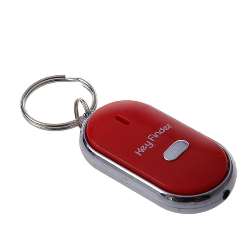 Pfeifen Verlorene Schlüsselfinder Blinken Piepend Remote Schlüsselanhänger Led
