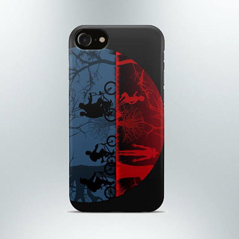 Stranger Things Phone Case Iphone 4 5 6 7s Plus 8 X Case Samsung Galaxy S6 S7 S8