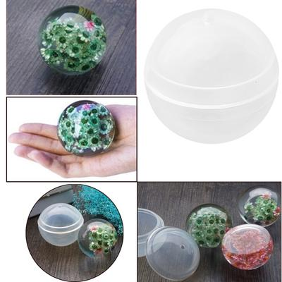 Silicone Mold Stereo Spherical Balls Jewelry Making DIY Epoxy Resin Crafts Ball