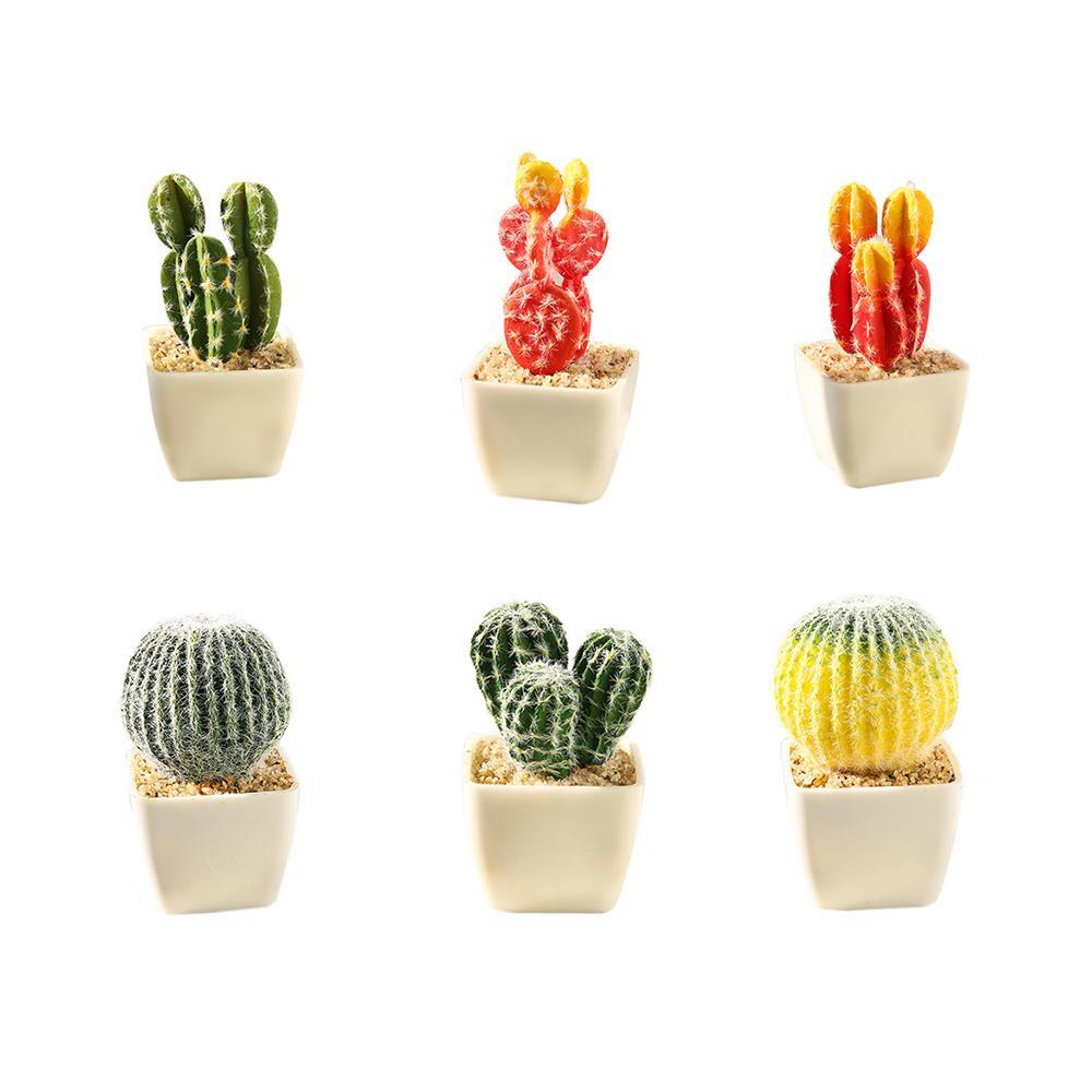 Simulation Succulent Artificial Flower Tropical Plant Cactus Creative Home-Decor