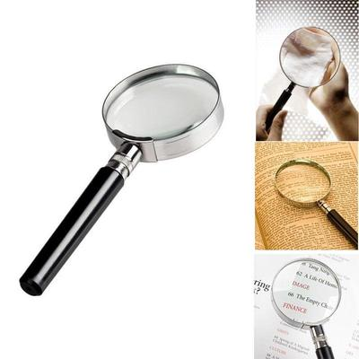 50mm 2 Inches Magnification Handheld Classic 10X Magnifier Magnifying Glass Loop Loupe Reading