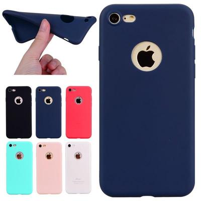For iPhone 7Plus 6S Plus/Samsung S8 Plus S7 A7(2017) Candy Color