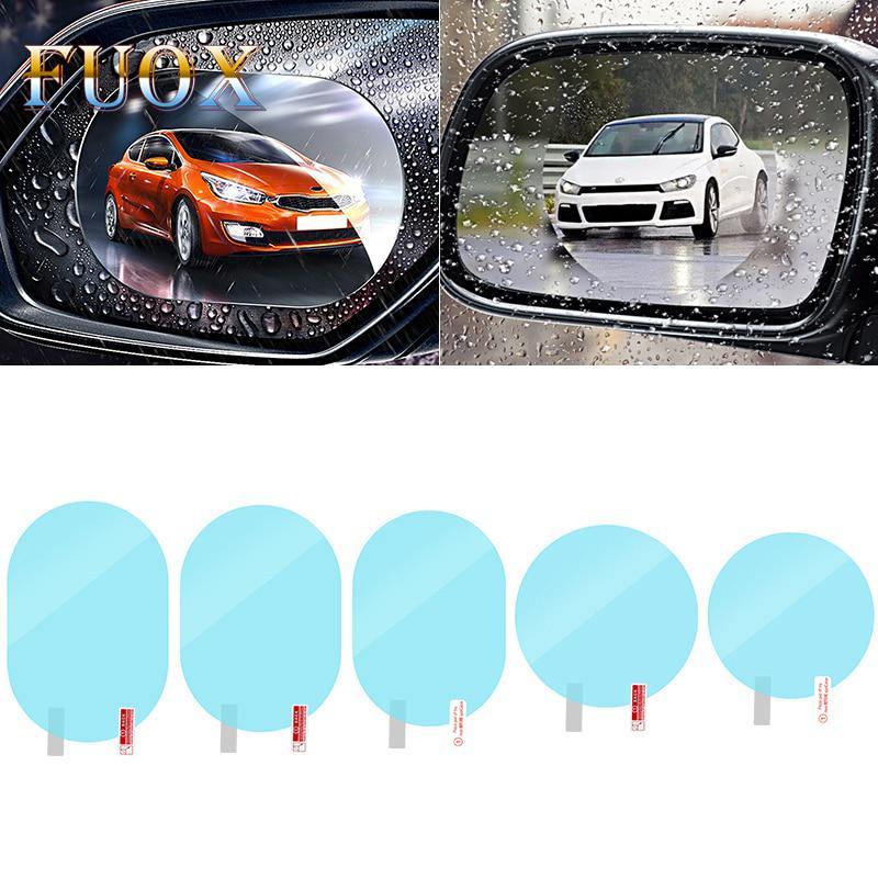1Pcs автомобиль Анти воды Туман фильм Анти туман покрытие дождевой гидрофобной Заднего зеркала защитная пленка фото