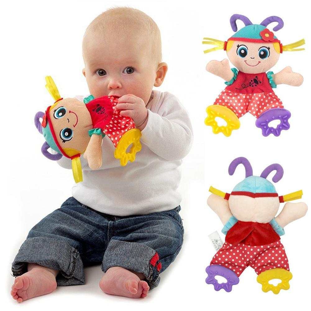 Baby Kids Animal Plush Appease Towel Toy Funny Doll Teether Developmental Toy W