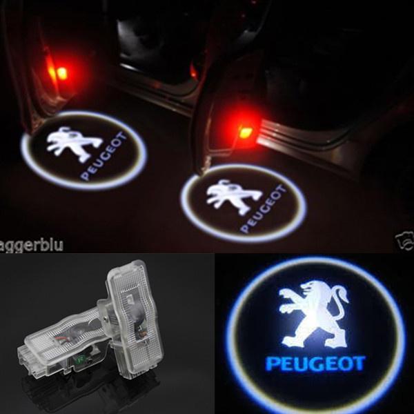 Peugeot RCZ Puerta Cortesía Luces-RCZ Logo