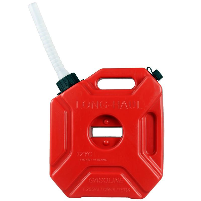 Car Boat Trailer Anti-Static Anti-Ultraviolet Spare Plastic Fuel Tank for Motorcycle 3L Fuel Tank Gas Can Canister