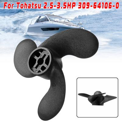 """3Blade Boat Outboard Propeller Parts for Nissan Outboard 7.4 x 5.7/"""" 30964107"""