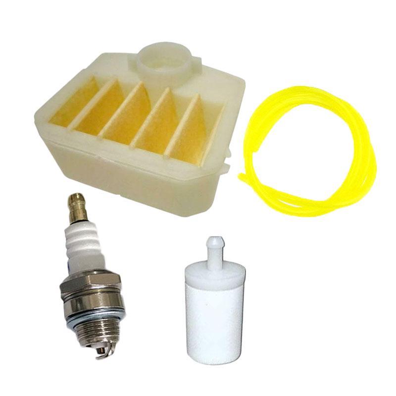 Air Filter Spark Plug Chainsaw Fuel Hose For HUSQVARNA 350 340 345 346XP 351 353