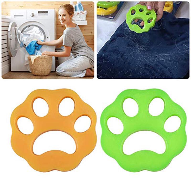 Pet Hair Catcher 2pcs Cat Dog Fur Lint Hair Remover Washing Machine Accessories