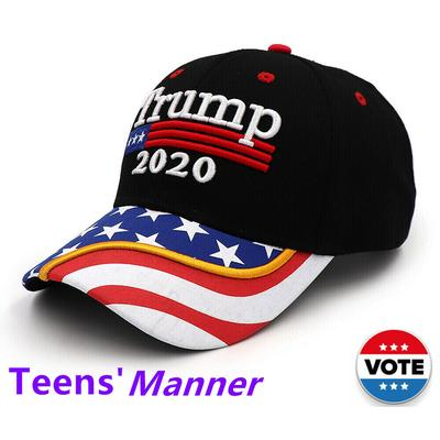 Donald Trump 2016 EMBROIDERED  FLAG Beanie CAP HAT