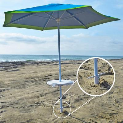 rondaful 38mm outdoor plastic parasol holder beach umbrella stand Parasol Holder